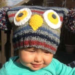 Children's Owl and Fox Hats