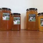Honey and Beeswax Candles